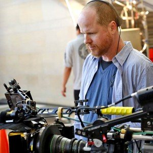 Joss Whedon on the set of MARVEL Agents of SHIELD.