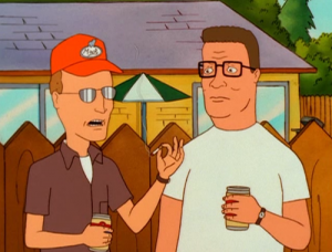 Dale and Hank King of the Hill characters